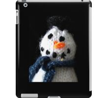 Knitted snowman iPad Case/Skin