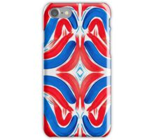 The Flag of Red, White, and Blue iPhone Case/Skin