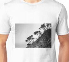 Point Lobos III BW Unisex T-Shirt