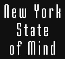 New York State Of Mind - Black Tee One Piece - Short Sleeve