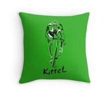 Kittel Sprint King Throw Pillow