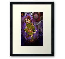 Majora's Mask: Welcome to the Show Framed Print