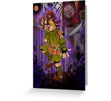 Majora's Mask: Welcome to the Show Greeting Card