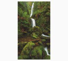 Quaile Falls, northern Tasmania. Baby Tee
