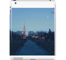 Moonlight in Newport iPad Case/Skin