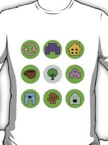 Animal Crossing - Symbols T-Shirt
