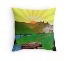 Pillow - Canoe Ardennes Throw Pillow