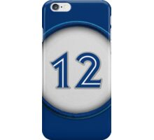12 - Robbie iPhone Case/Skin