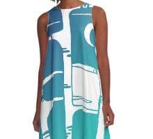 moonlight A-Line Dress