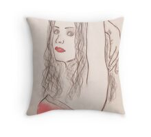 Confidence is Showing Throw Pillow