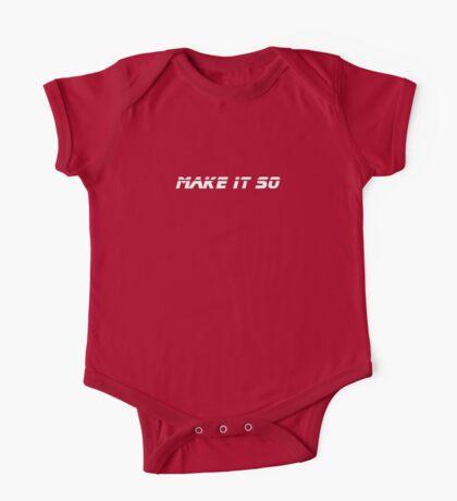 Make It So - Black T-Shirt One Piece - Short Sleeve