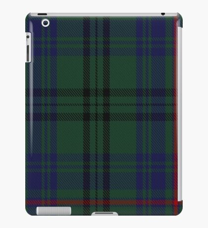 10010 Walker Hunting Clan/Family Tartan  iPad Case/Skin