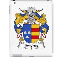 Jimenez Coat of Arms/Family Crest iPad Case/Skin
