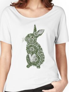 Lace Rabbit Women's Relaxed Fit T-Shirt