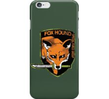 Foxhound iPhone Case/Skin