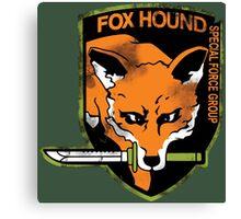 Foxhound Canvas Print