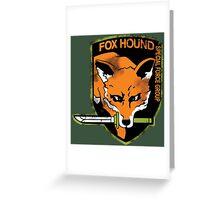 Foxhound Greeting Card
