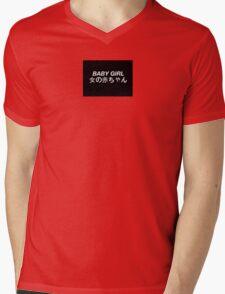 BABYGIRL Tumblr Inspired Mens V-Neck T-Shirt