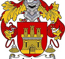 Juarez Coat of Arms/Family Crest by William Martin