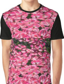 Dogwood Pink Blossom Graphic T-Shirt