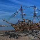 Black Pearl Pirate Ship by Paul Madden