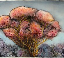 Crimson Tree by Bjorn Eek