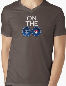 Pokemon - On the Go Mens V-Neck T-Shirt