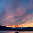 Sunset from Juniper Point by Michael Russell