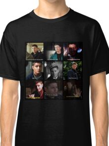 Dean Winchester Quotes Collage #1 Classic T-Shirt