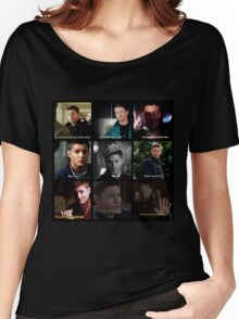 Dean Winchester Quotes Collage #1 Women's Relaxed Fit T-Shirt