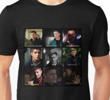 Dean Winchester Quotes Collage #1 Unisex T-Shirt