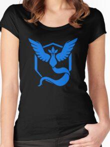 Pokemon Go - Team Mystic (Articuno Logo) Women's Fitted Scoop T-Shirt