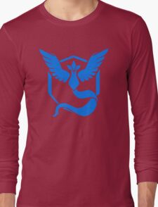 Pokemon Go - Team Mystic (Articuno Logo) Long Sleeve T-Shirt