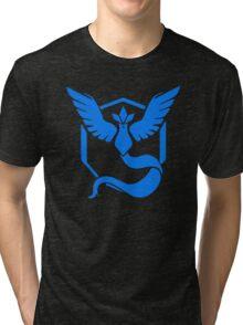 Pokemon Go - Team Mystic (Articuno Logo) Tri-blend T-Shirt