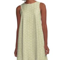 Sea of Arches Pattern A-Line Dress