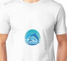 playful dolphins Unisex T-Shirt