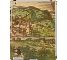 Baden Vintage map.Geography Germany ,city view,building,political,Lithography,historical fashion,geo design,Cartography,Country,Science,history,urban iPad Case/Skin