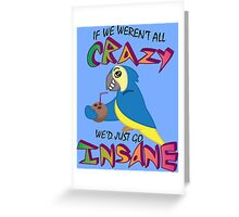 Jimmy Buffet Parrothead Greeting Card