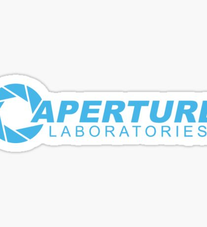 Aperture Laboratories Sticker