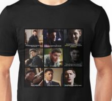 Dean Winchester Quotes Collage #3 Unisex T-Shirt
