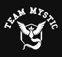 Team Mystic - white One Piece - Short Sleeve