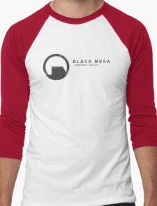 Black Mesa Research Facility Men's Baseball ¾ T-Shirt
