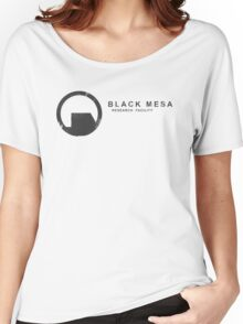 Black Mesa Research Facility Women's Relaxed Fit T-Shirt