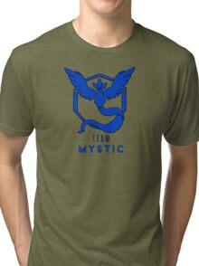 Pokemon GO: Team Mystic (Blue) - Elite Tri-blend T-Shirt