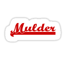 Mulder [Small #2] Sticker