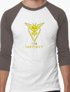 Pokemon GO: Team Instinct (Yellow) - Elite Men's Baseball ¾ T-Shirt