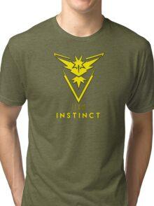 Pokemon GO: Team Instinct (Yellow) - Elite Tri-blend T-Shirt