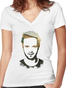 Jessie Pinkman. Women's Fitted V-Neck T-Shirt