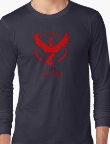 Pokemon GO: Team Valor (Red) - Elite Long Sleeve T-Shirt