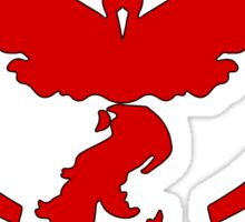 Pokemon GO: Team Valor (Red) - Elite Sticker